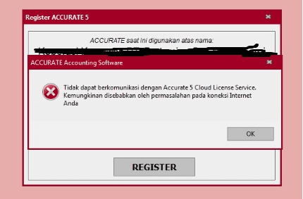 registrasi accurate 5