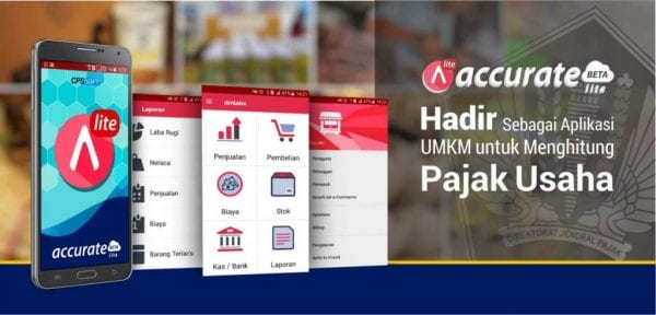 software akuntansi online accurate lite