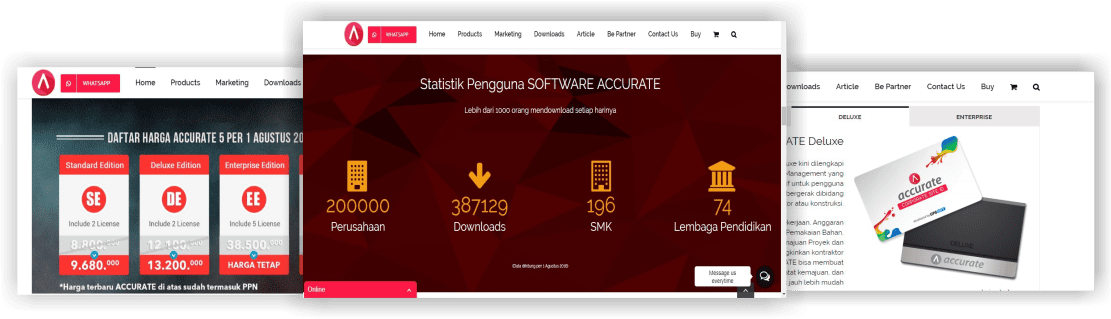 harga software accurate 5