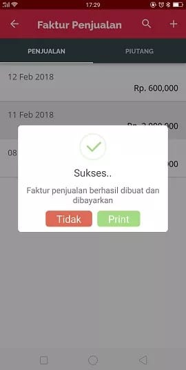 tutorial setting printer pada accurate lite