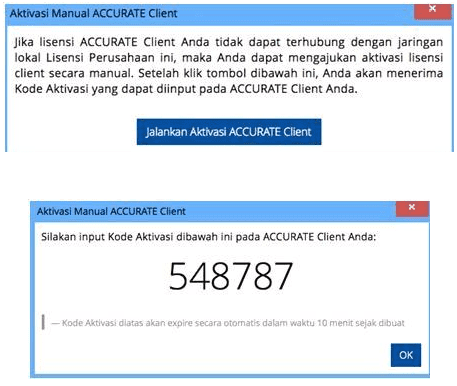 aktivasi manual accurate 5
