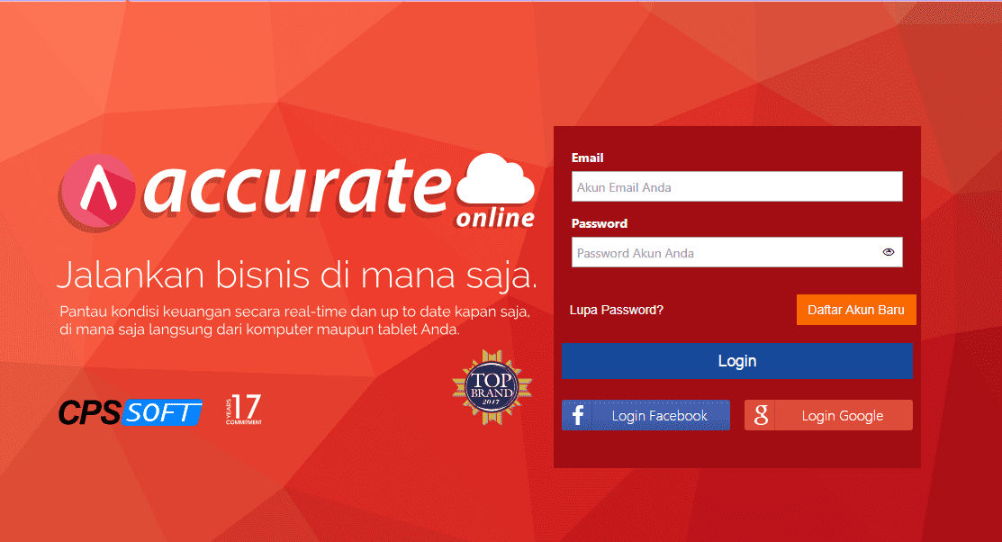 membuat user accurate online